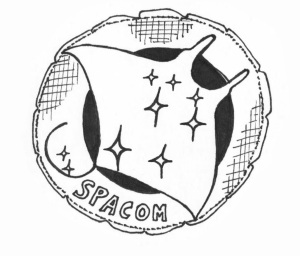 SPACOM patch (old and worn)