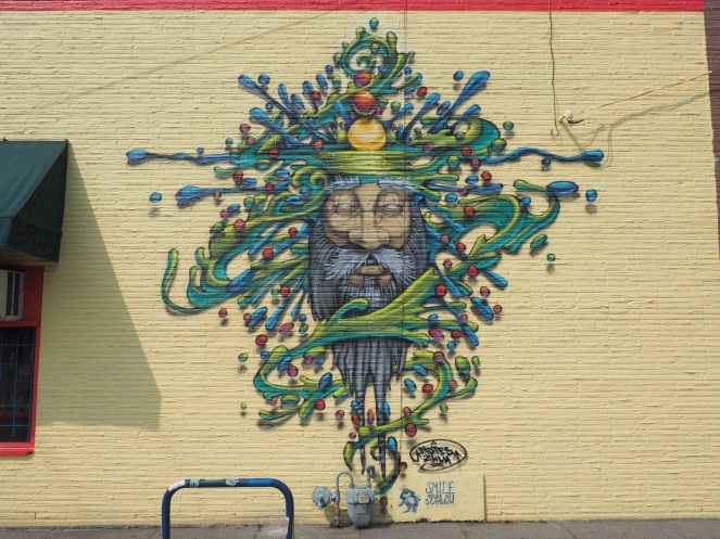 Mural, just off of 40th & SE Hawthorne