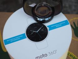 The Moto 360 and refurb packaging