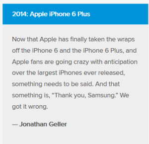 Will Apple acknowledge Samsung