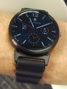 Moto360, SteelConnect lugs and Traser watch band
