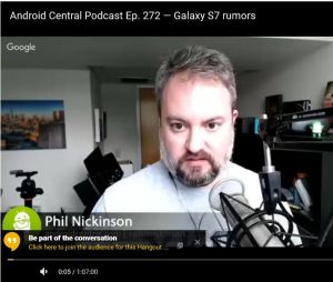 Phil Nickinson, Authority. Android Wear Doubter.